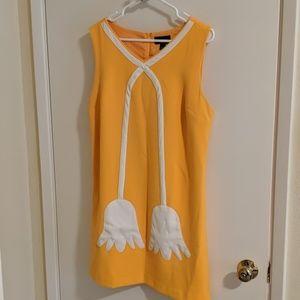 Yellow Victoria Beckham Dress
